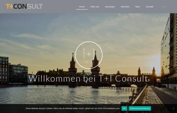 Vorschau von www.ti-consult.de, Tund I Consult GmbH