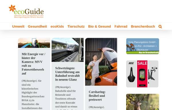 Vorschau von ecoguide.de, Ecoguide