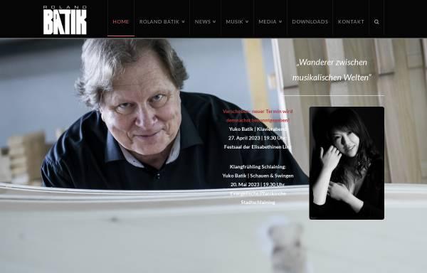 Vorschau von www.rolandbatik.com, Batik, Roland