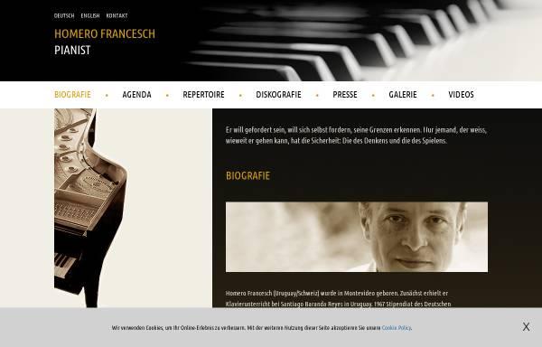 Vorschau von homerofrancesch.com, Francesch, Homero