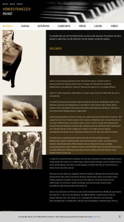 Vorschau der mobilen Webseite homerofrancesch.com, Francesch, Homero