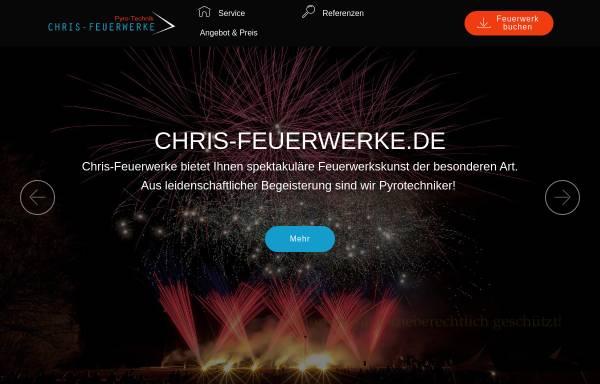 Vorschau von www.chris-feuerwerke.de, Chris-Feuerwerke, Inh. Christian Grotzki