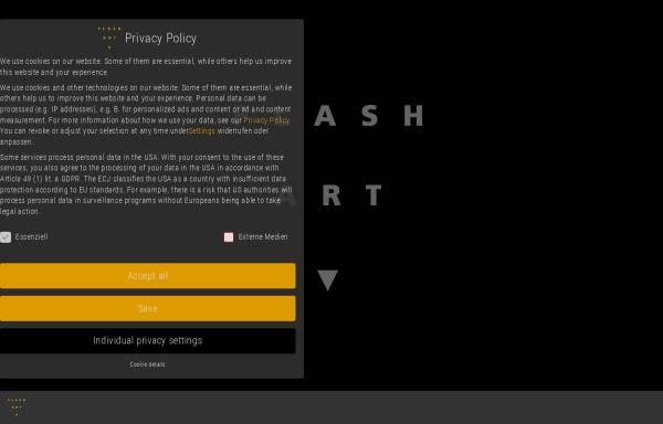 Vorschau von flashart.com, Flash Art GmbH