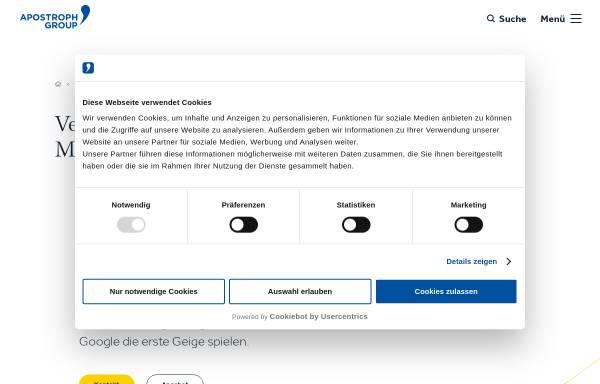 Vorschau von www.wienersundwieners.de, Wieners+Wieners GmbH