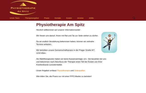 Vorschau von www.physioas.at, Physiotherapie am Spitz