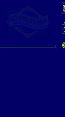 Vorschau der mobilen Webseite www.sambashow.berlin, Axe Brasil - Samba Show Berlin