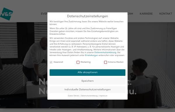 Vorschau von www.v-und-s.de, Vollmer & Scheffczyk GmbH