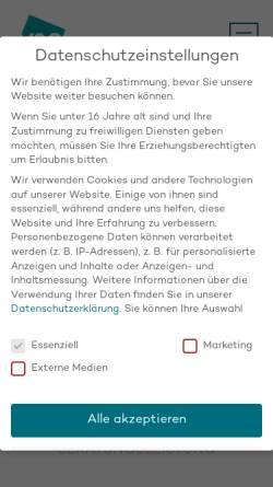 Vorschau der mobilen Webseite www.v-und-s.de, Vollmer & Scheffczyk GmbH