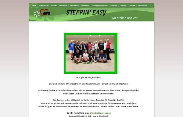 Vorschau von www.steppin-easy.de, Steppin' Easy