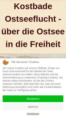 Vorschau der mobilen Webseite www.kostbade.com, Kostbade, Renate und Alfred