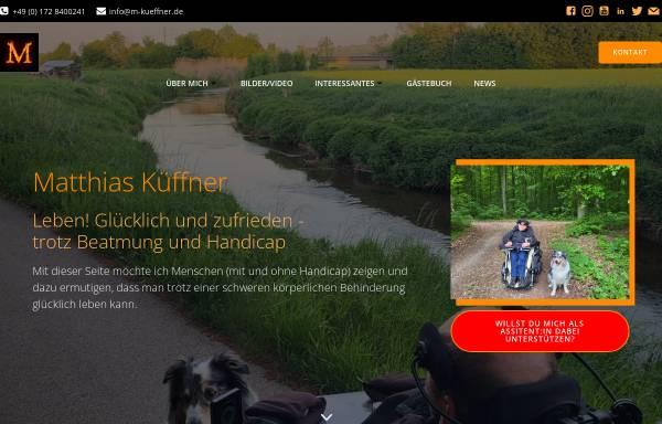 Vorschau von www.m-kueffner.de, Küffner, Matthias