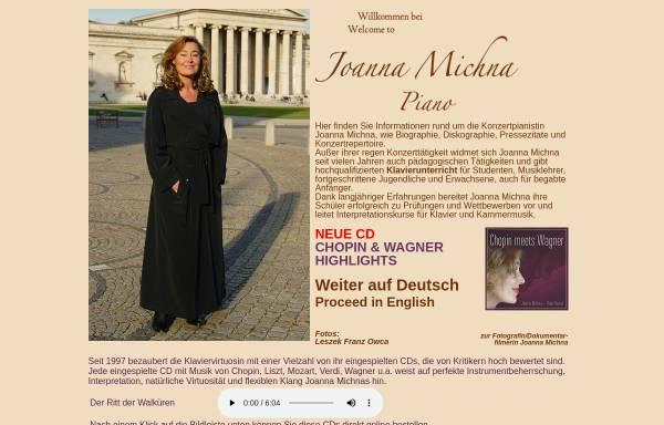 Vorschau von www.joanna-michna.de, Michna, Joanna