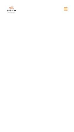Vorschau der mobilen Webseite www.avesco.de, Avesco Financial Services AG
