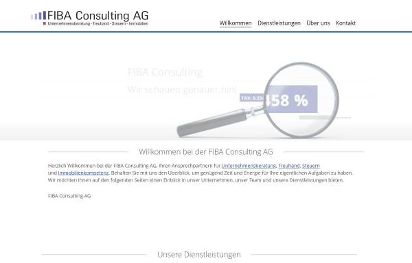 Vorschau von www.fiba-finanz.ch, Fiba Finanzberatung Basel AG