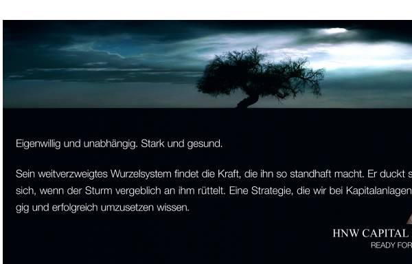 Vorschau von www.hnwcapital.ch, HNW Capital Management AG