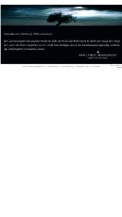Vorschau der mobilen Webseite www.hnwcapital.ch, HNW Capital Management AG