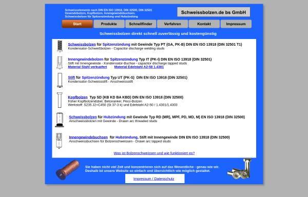 Vorschau von www.schweissbolzen.de, Bernd Kühnle