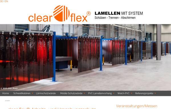 Vorschau von www.clearflex.de, Clearflex GmbH