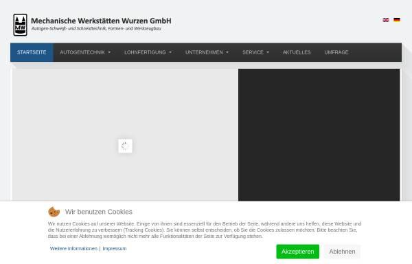 Vorschau von www.mw-wurzen.de, Mechanische Werkstätten Wurzen GmbH