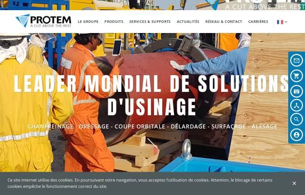 Vorschau von www.protem.fr, Protem GmbH