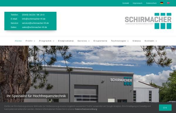 Vorschau von www.schirmacher-hf.de, Schirmacher GmbH