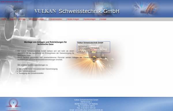 Vorschau von www.vulkan-schweisstechnik.de, Vulkan Schweisstechnik GmbH