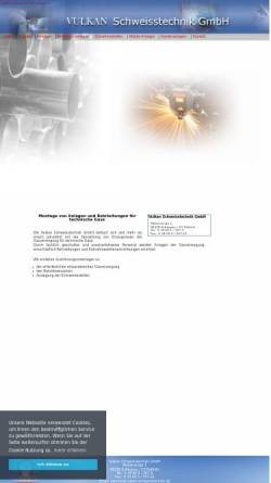 Vorschau der mobilen Webseite www.vulkan-schweisstechnik.de, Vulkan Schweisstechnik GmbH