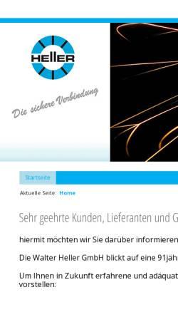 Vorschau der mobilen Webseite www.heller-schweisstechnik.de, Walter Heller GmbH