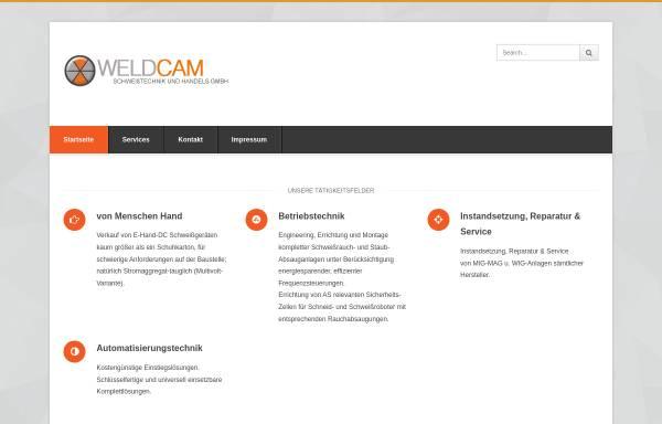 Vorschau von www.weldcam.de, Weldcam Schweisstechnik GmbH