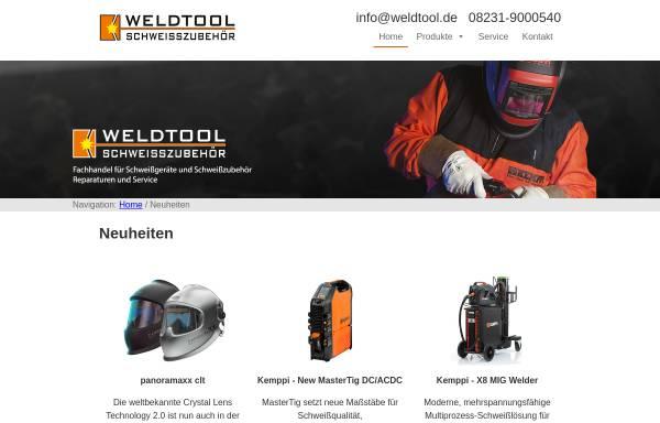 Vorschau von www.weldtool.eu, Weldtool, Inh. Dipl.-Ing. Harald Beinstingel