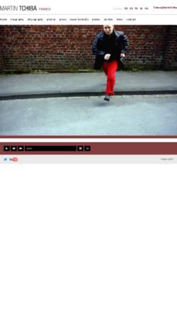Vorschau der mobilen Webseite www.martin-tchiba.com, Tchiba, Martin