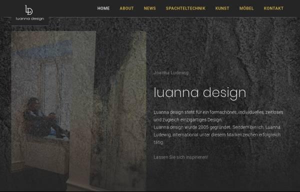 Vorschau von luanna.de, Luanna.de, Joanna Ludewig