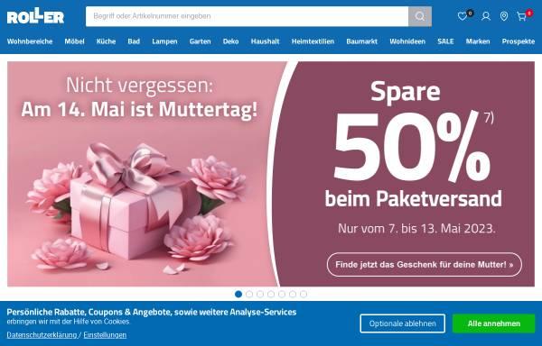 Vorschau von www.roller.de, Roller GmbH & Co. KG