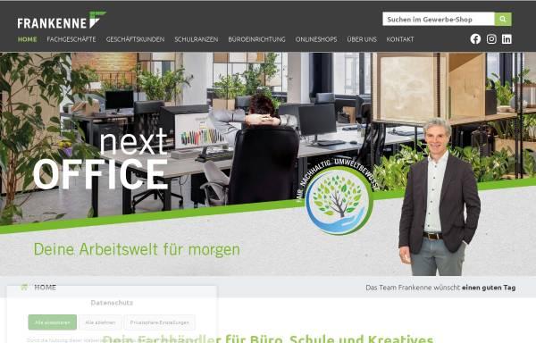 Vorschau von www.frankenne.de, Frankenne GmbH