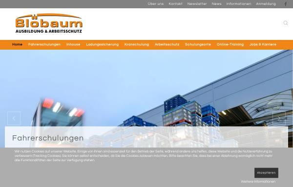 Vorschau von www.ausbildung-arbeitsschutz.de, Ausbildung und Arbeitsschutz, Inh. Frank Blöbaum