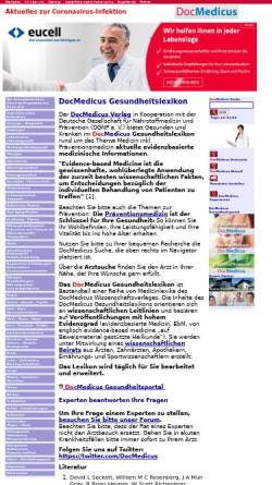 Vorschau der mobilen Webseite www.gesundheits-lexikon.com, Gesundheitslexikon