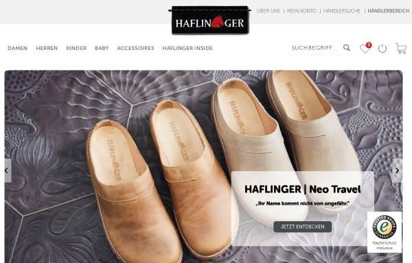 Vorschau von www.haflinger.com, HAFLINGER | iesse-Schuh GmbH
