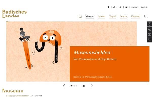 Vorschau von www.landesmuseum.de, Badisches Landesmuseum Karlsruhe