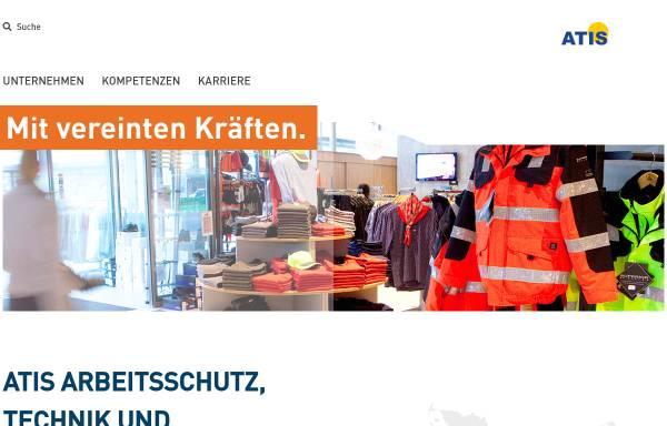Vorschau von www.atis-shop.de, Arbeitsschutz, Technik und Industriebedarf GmbH