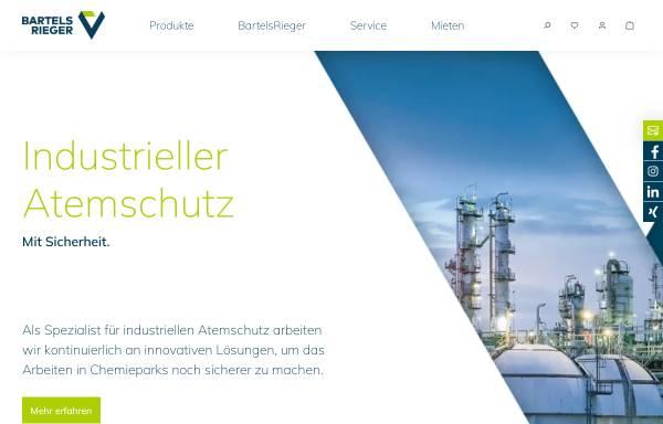 Vorschau von www.bartels-rieger.de, Bartels & Rieger GmbH & Co