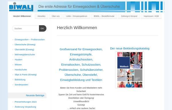 Vorschau von www.biwal.de, BIWAL Dienstleistungen Import/Export & Werbeagentur, Inh. Sven Grobecker