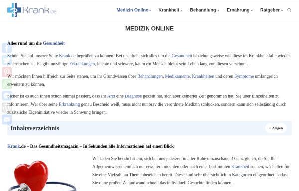 Vorschau von www.medizin-online.de, Medizin-Online: Fachportal Chirurgie