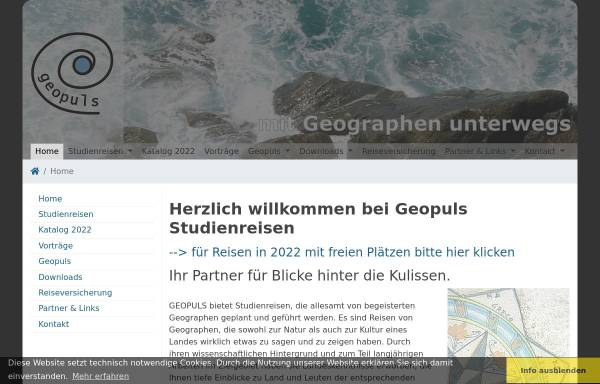 Vorschau von www.geopuls.de, Geopuls GbR