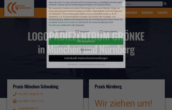 Vorschau von www.logomuc.de, Claudia Grönke