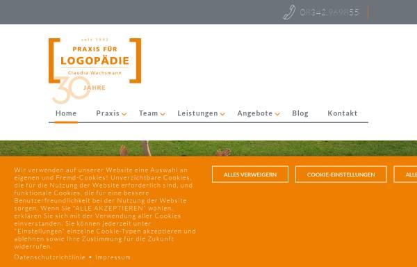 Vorschau von www.logopaedie-ostallgaeu.de, Logopädische Praxisgemeinschaft Marktoberdorf