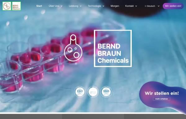 Vorschau von www.berndbraunchemicals.de, Bernd Braun