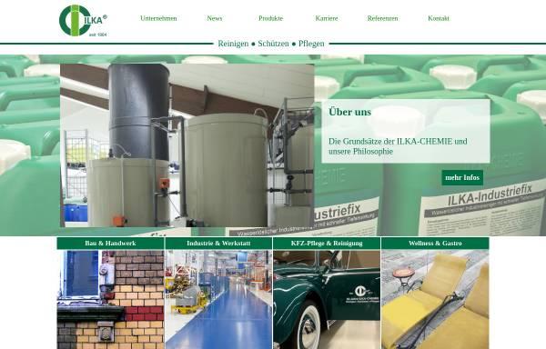 Vorschau von www.ilka-chemie.com, ILKA-Chemie GmbH