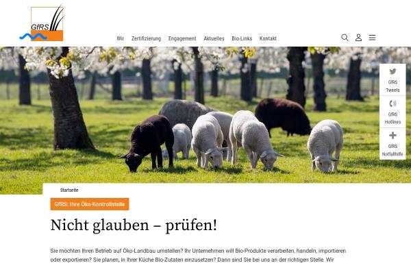 GfRS - Gesellschaft für Ressourcenschutz: Zertifizierung ...
