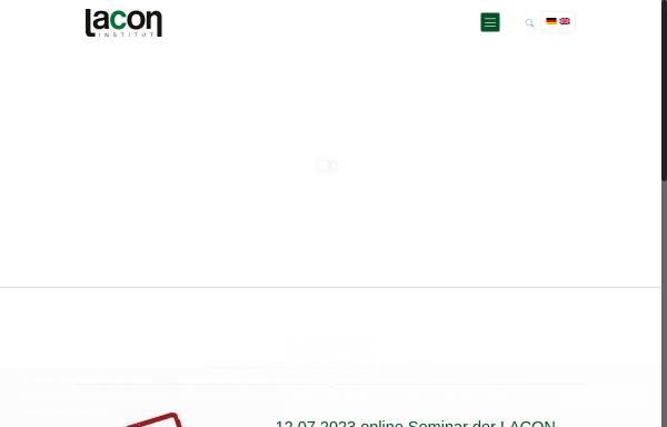 Lacon GmbH: Zertifizierung, Ökologische Landwirtschaft lacon ...