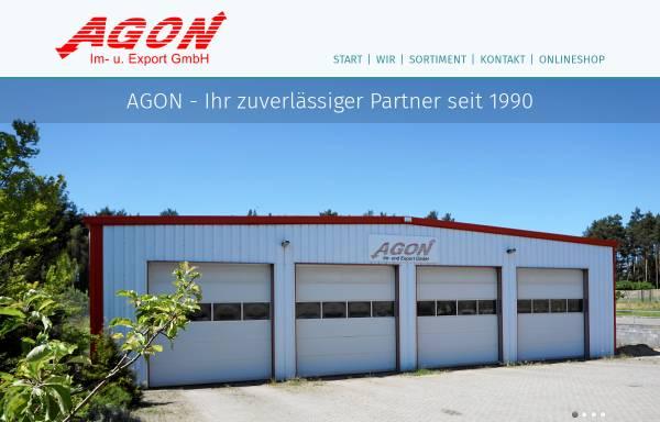 Vorschau von www.agon-blumen.de, AGON Import und Export GmbH